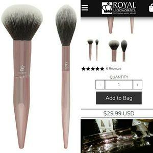 MODA Powder + Soft Glow Makeup Brushes 💄